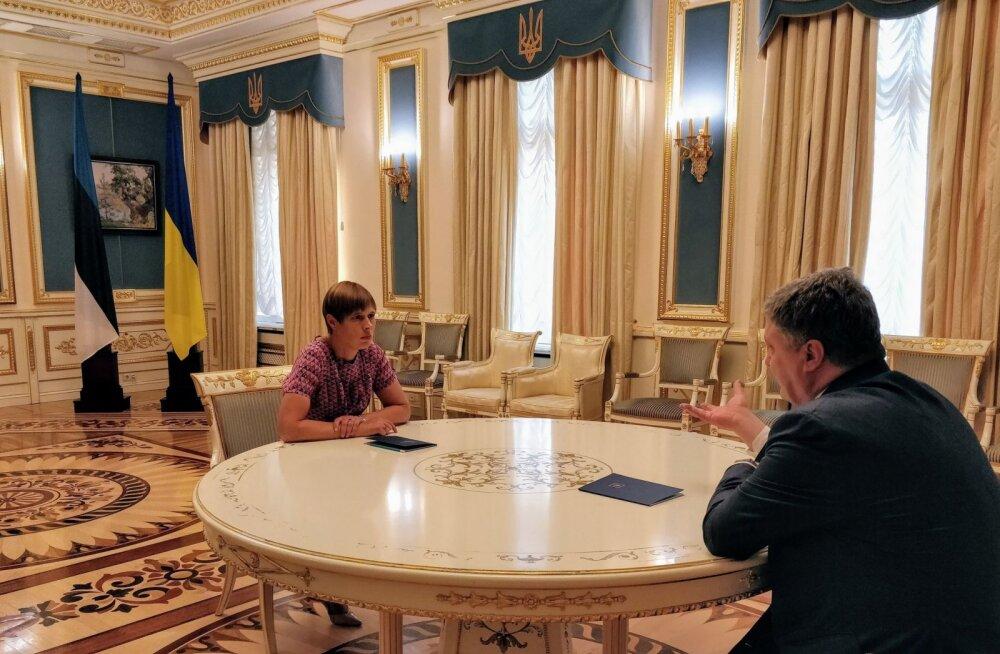 President Kaljulaid Poroshenkole: Ukraina peab näitama konkreetseid samme reformide elluviimisel