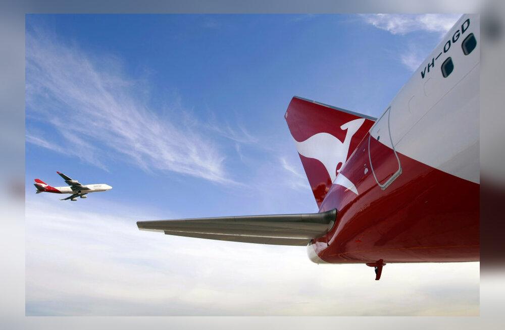 Austraalia lennufirma Qantas kärbib 5000 töökohta