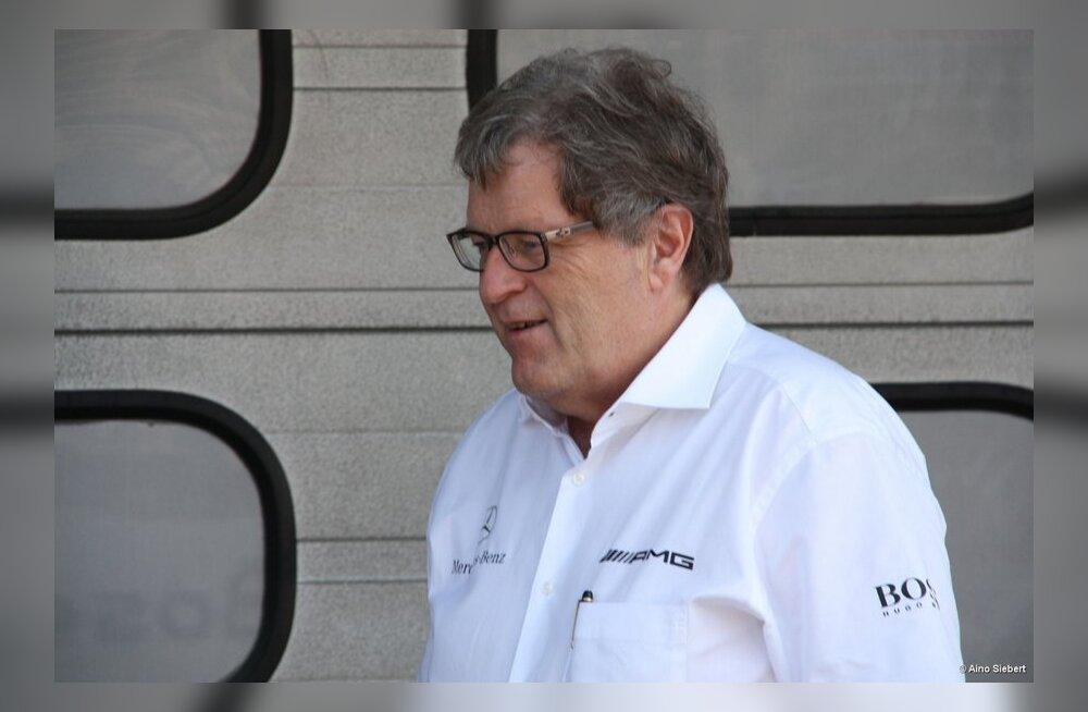 Norbert Haug juhtis Mercedese mootorispordiosakonda 22 aastat
