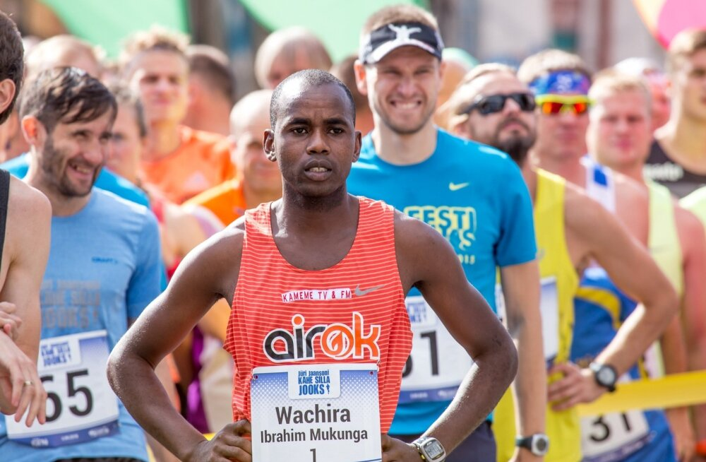 Ibrahim Mukunga stardi ootel