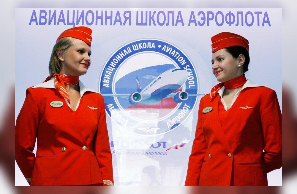 Aerofloti stjuardess Twitteris: kahju, et meie Superjet alla ei kukkunud, oleks üks vähem