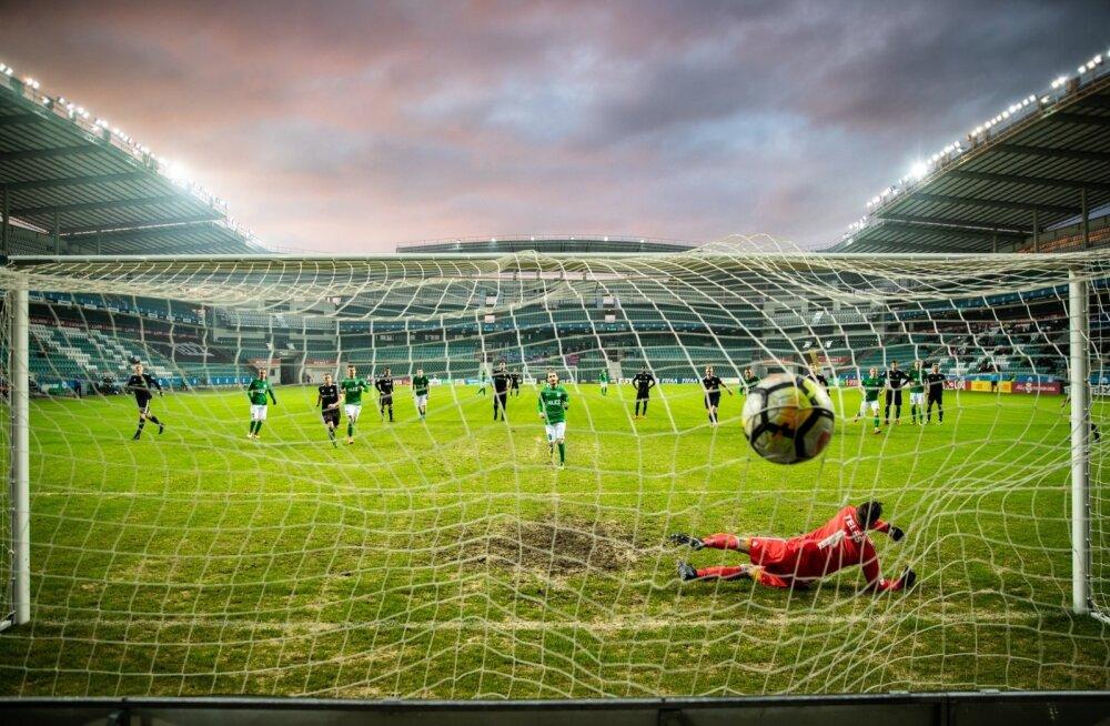 Lilleküla staadion, FC Flora ja Nõmme Kalju mäng