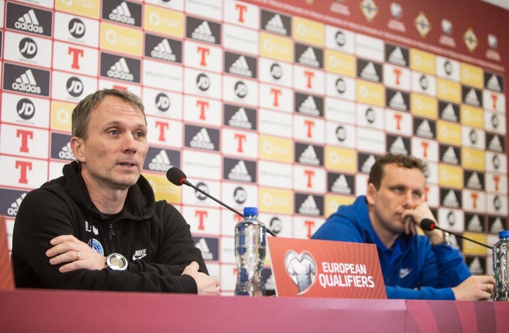 """""""Kostja on pressikonverentsile alati teretulnud,"""" põhjendas Martin Reim, miks ta Konstantin Vassiljevi enda kõrvale valis."""