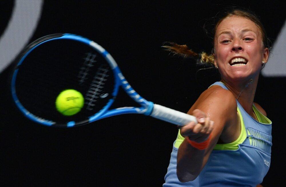 Poolteist setti mängis Anett Kontaveit elu parimat tennist.