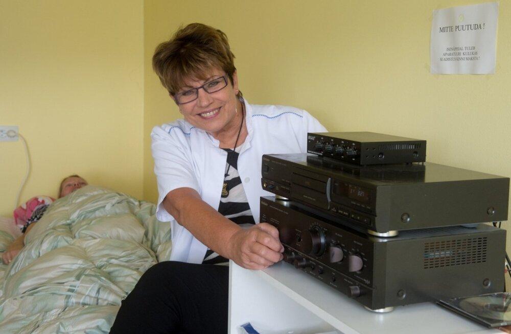 Vibroakustilise teraapia arst Riina Raudsik