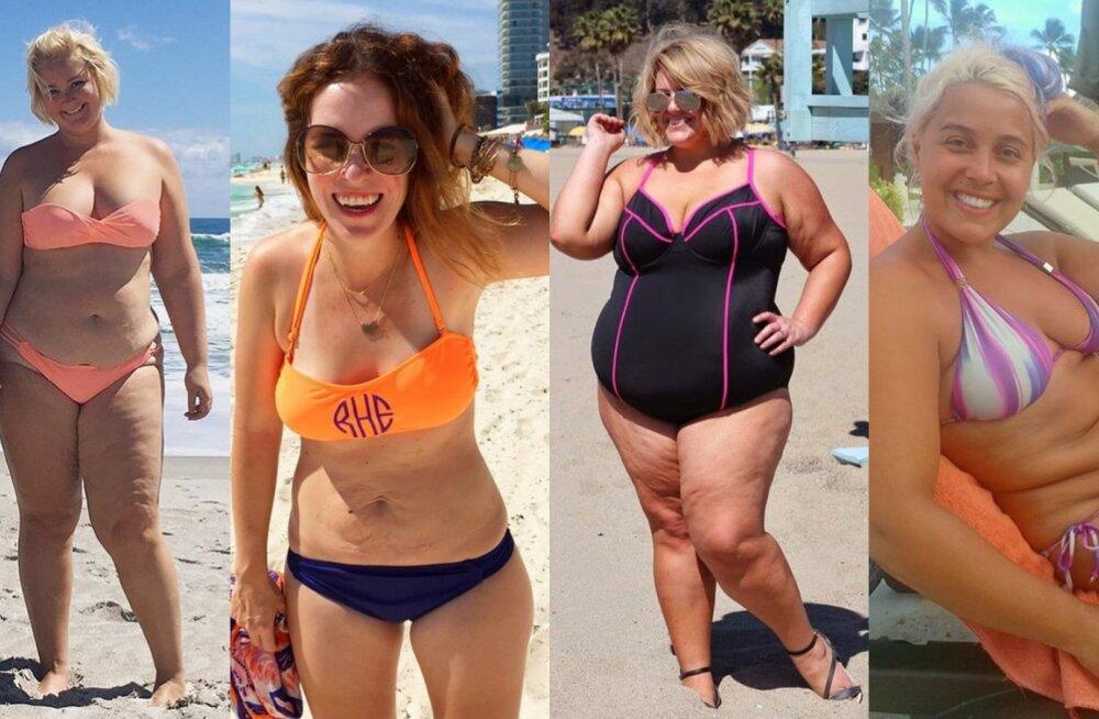 GALERII | Inspireerivad rannakehad: sa ei pea kaalust alla võtma, et sel suvel julgelt bikiine kanda!