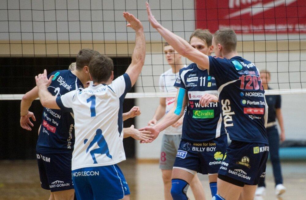TTÜ Võrkpalliklubi vs Tartu Bigbank