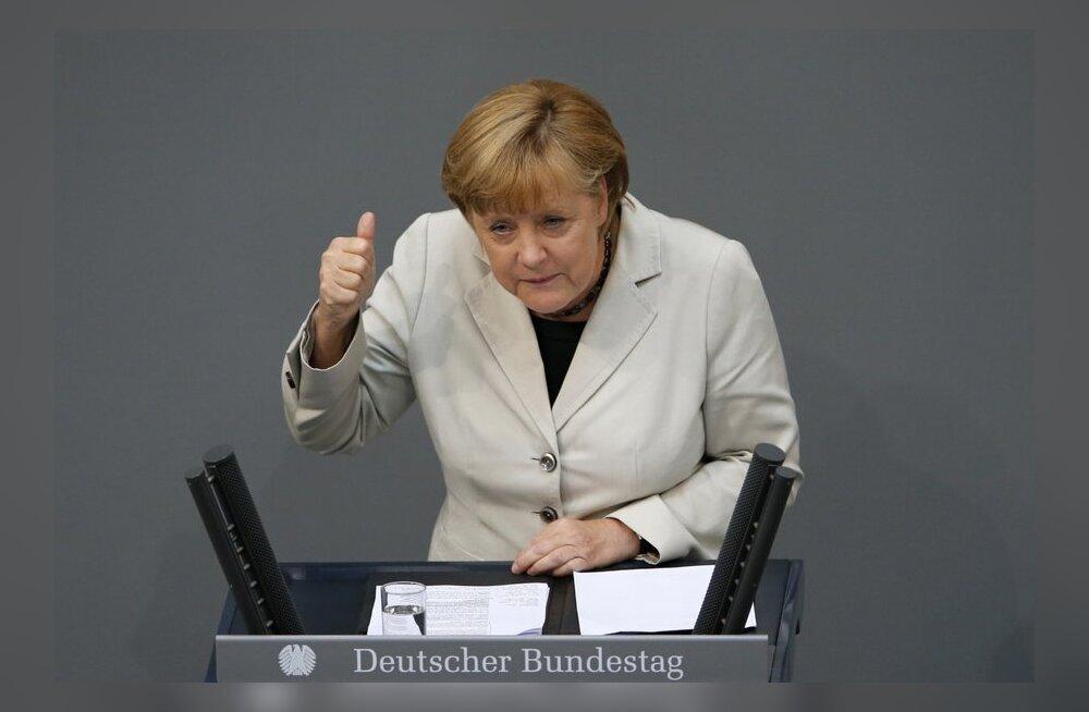 Merkel: Saksa kohtu ESM-i heakskiit on Euroopa jaoks hea päev