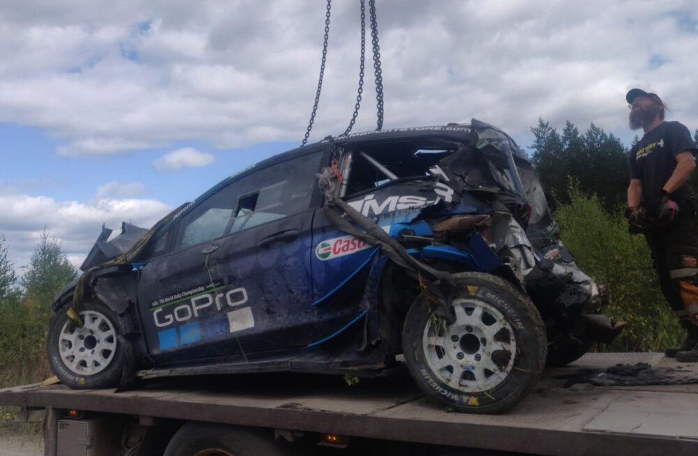 Ametlik: Raske avarii teinud Paddon ei saa Soome rallil startida!