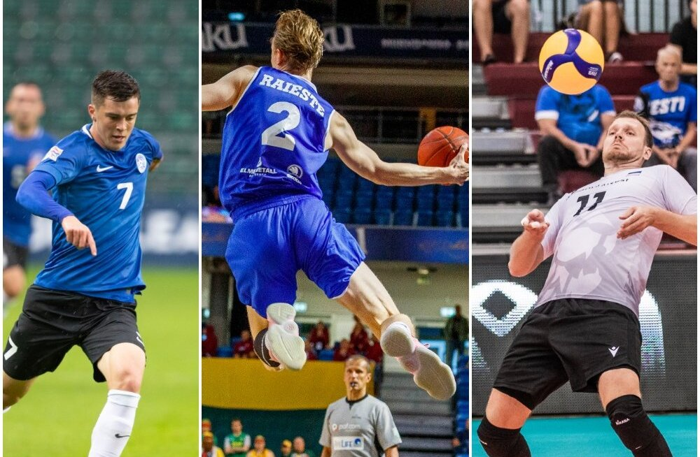 INTERAKTIIVNE GRAAFIK   Mis on Eestis pallimäng number üks? Kas korvpall hakkab võrkpallist mööduma?