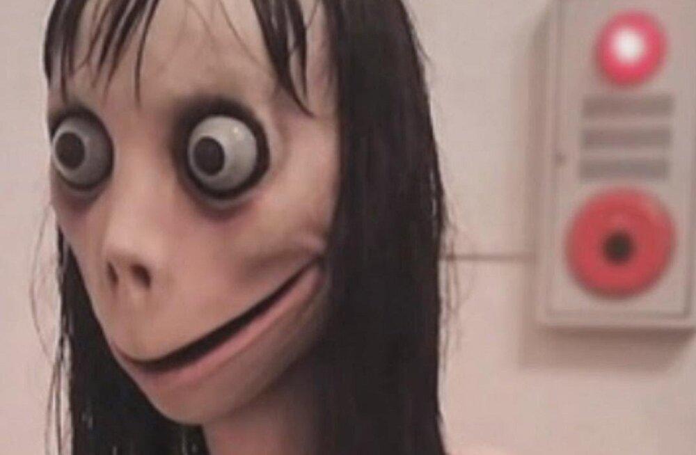 """WhatsAppi kaudu levinud võikast internetimängust """"Momo"""" valmib film"""