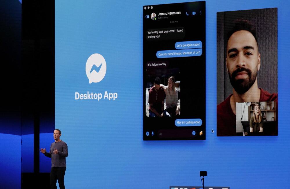 Facebook toob arvutisse eraldi Messengeri äpi, plaanib ka teisi suuri muutusi