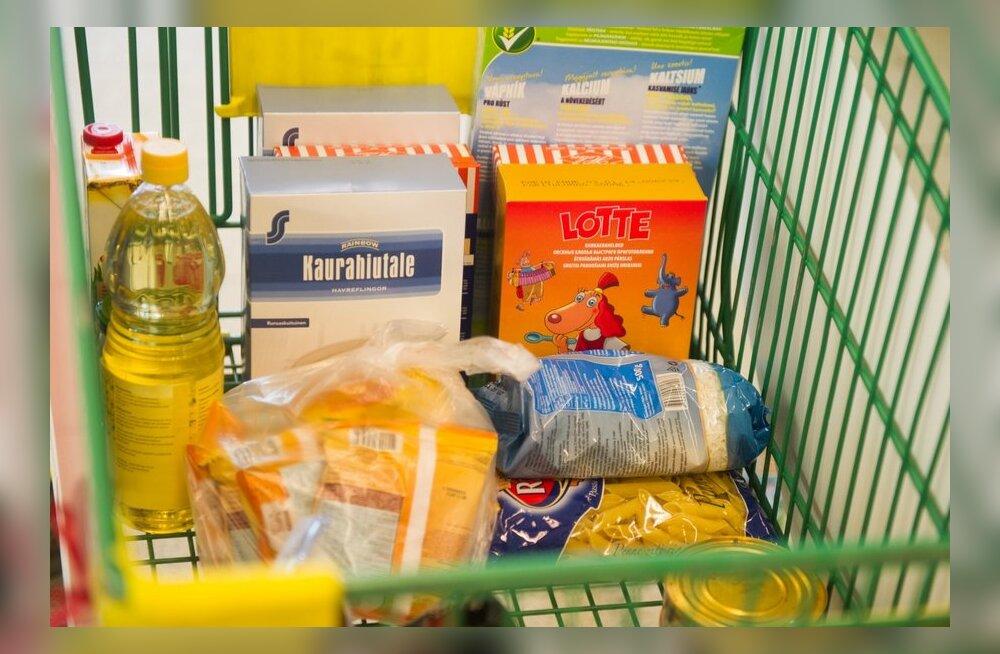 Toidupanga toidukogumispäev Sikupilli Prismas