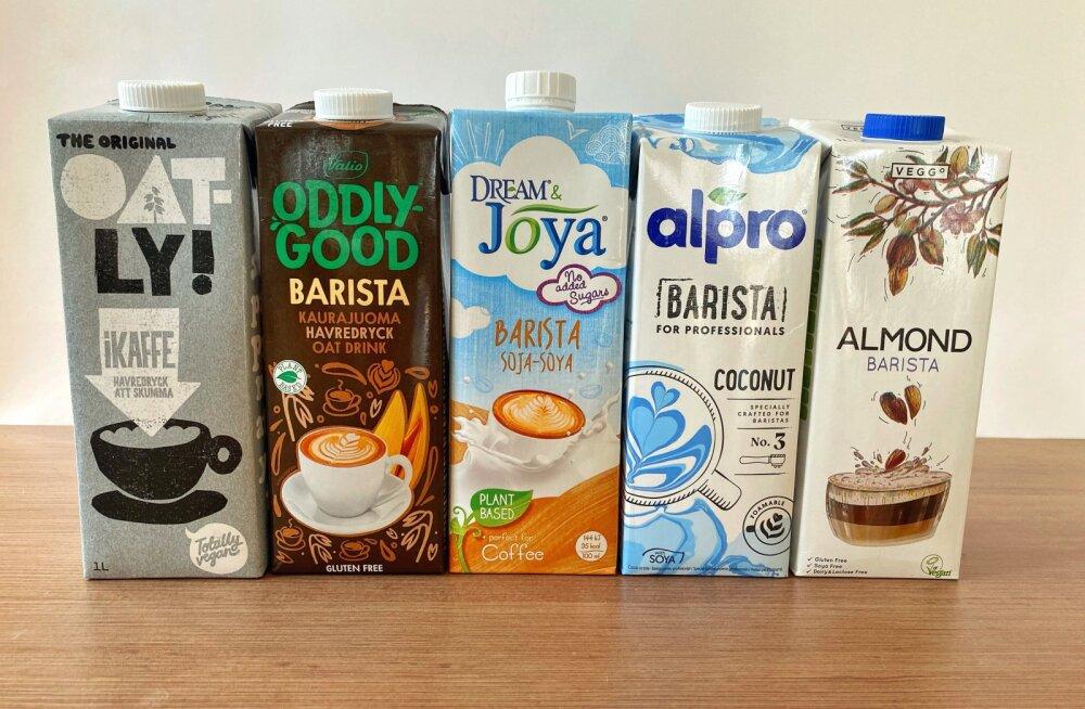 Овсяное, соевое, кокосовое, миндальное. Чем полезно растительное молоко и какое самое вкусное в Эстонии?