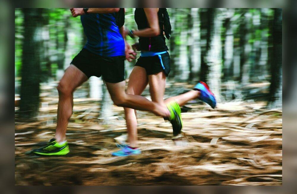 Keha järk-järguline treeninguga harjutamine aitab ülekoormust vältida