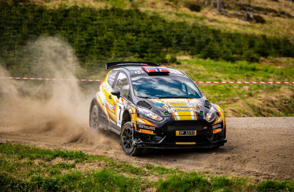 Valitsev Norra meister tuleb Rally Estoniale R5 autoga konkurentsi pakkuma