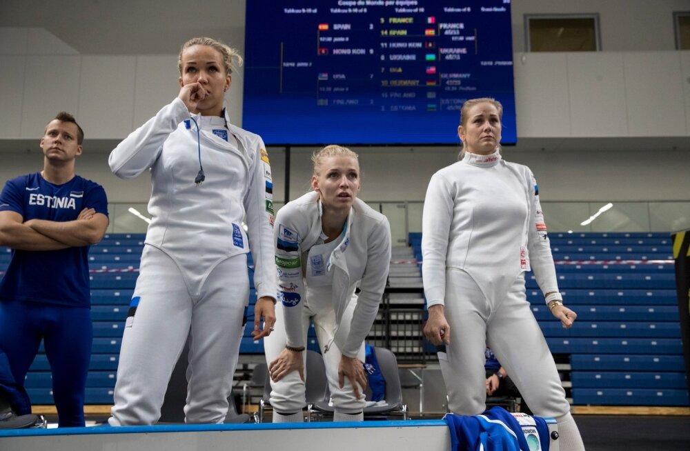 Tallinna Mõõk: Erika Kirpu, Katrina Lehis, Kristina Kuusk