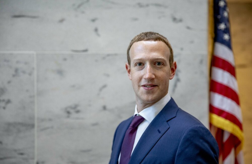 Mark Zuckerberg USA kapitooliumil