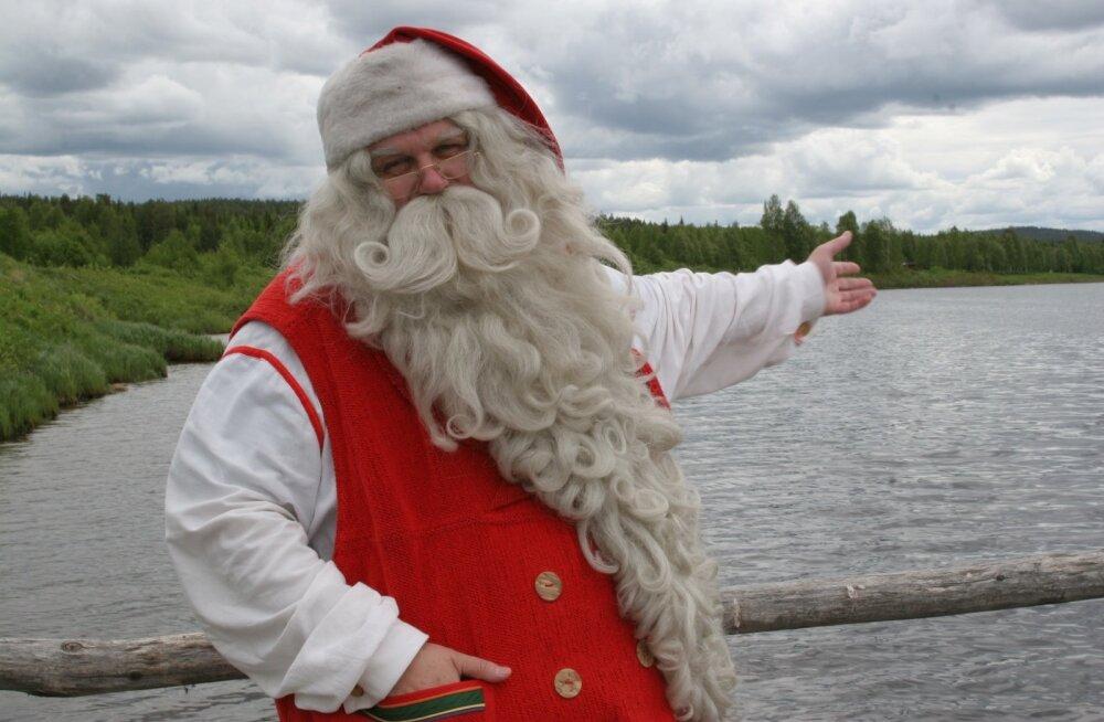 Jõuluvana tegutseb oma kodus aasta läbi.