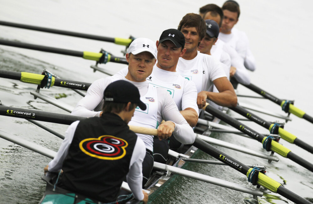 Martin Sauer (vasakult), Kristof Wilke, Florian Menningen, Lukas Mueller, Richard Schmidt, Maximilian Reinelt, Eric Johannesen, Andreas Kuffner ja Filip Adamski.