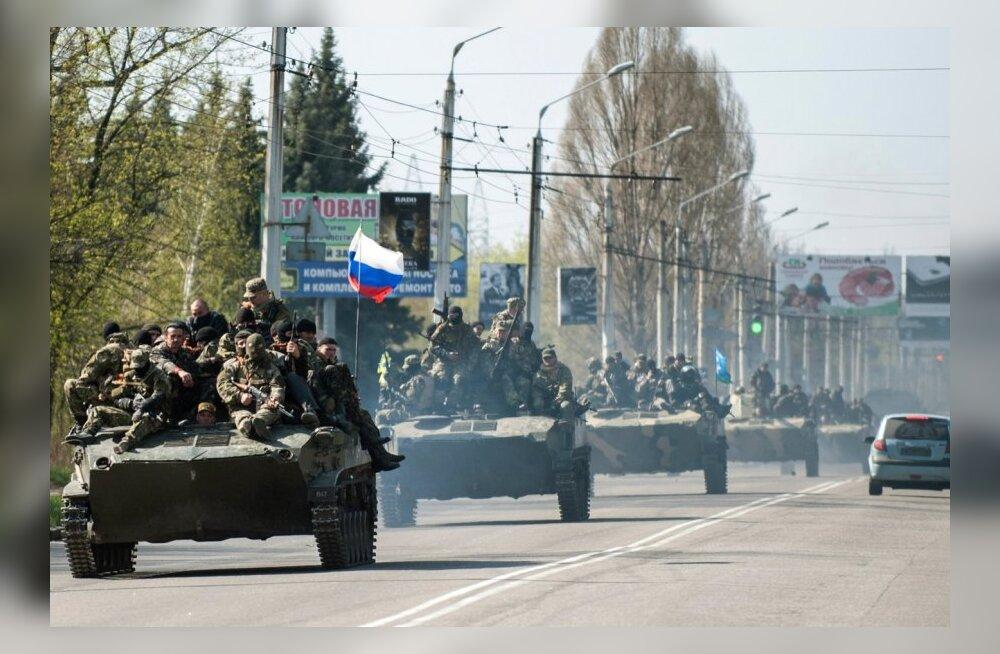 SBU: diversioonigruppe Ida-Ukrainas juhivad Vene eriteenistused