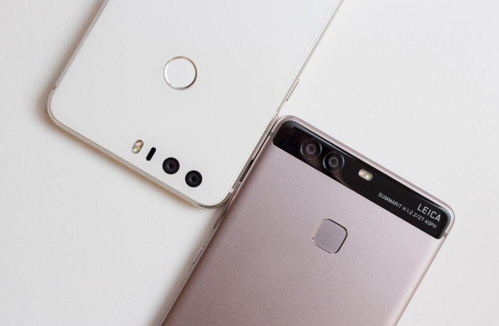 Kahe objektiiviga põhikaamera on uus telefonitrend. Kui häid pilte sellega teha saab?
