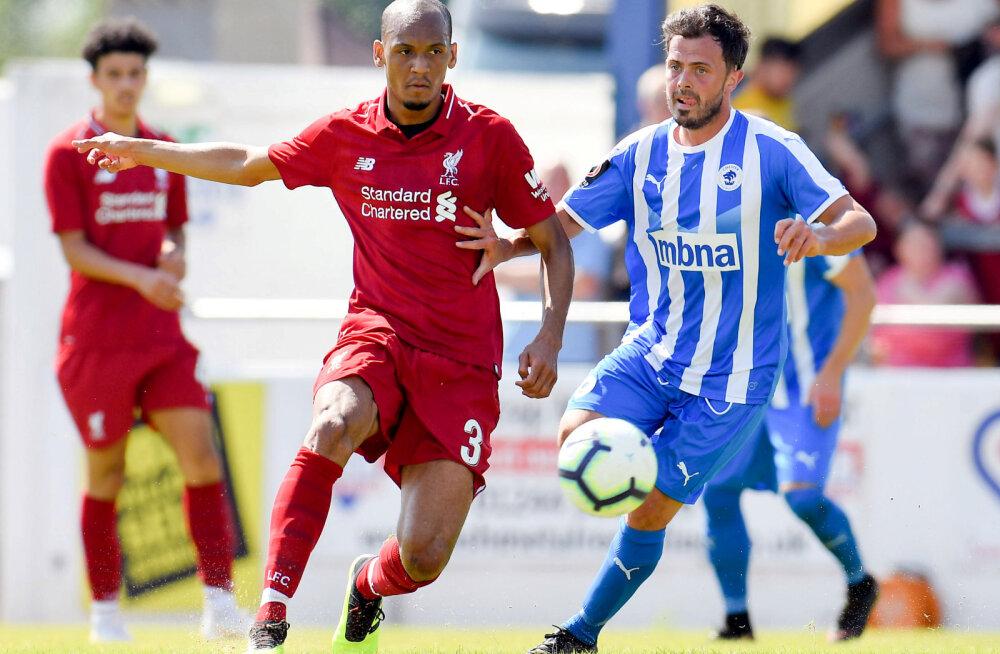 Liverpool ja Klavan alustasid kontrollmänge 7:0 võiduga, kaks uut ostu debüteerisid