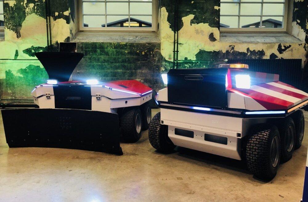 Eesti uued lumekoristusrobotid inimest alla ei aja ja autot ei kriimusta
