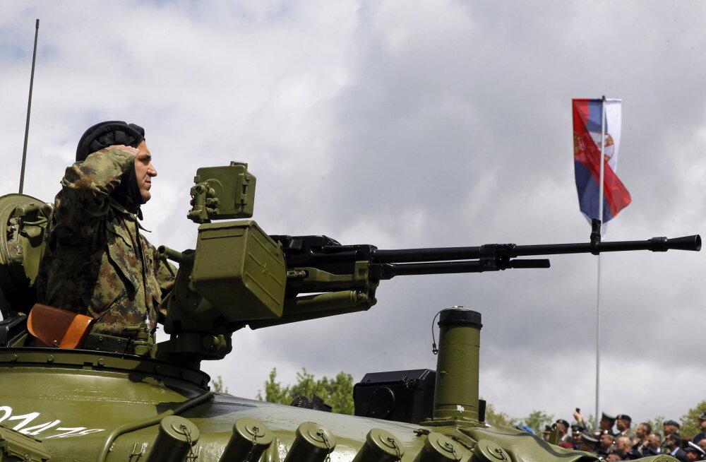 Serbia käsutas oma armee pärast Kosovo politseioperatsiooni täielikku lahinguvalmidusse