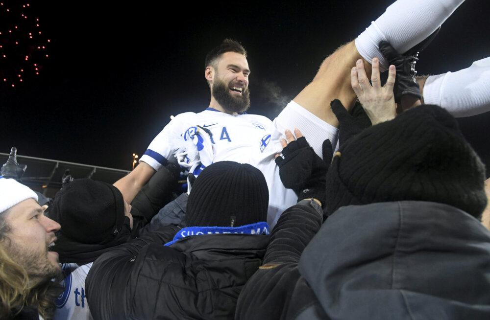Soome jalgpallikoondise kapten: see päev jääb igaveseks meelde!