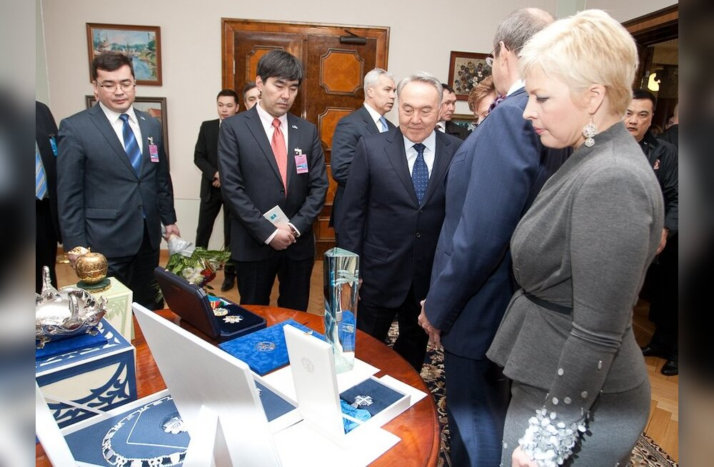 Nazarbajev sai Eestist Maarjamaa Risti keti