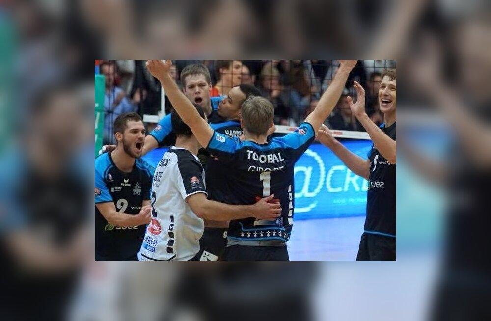 Võidukas Rennes Volley
