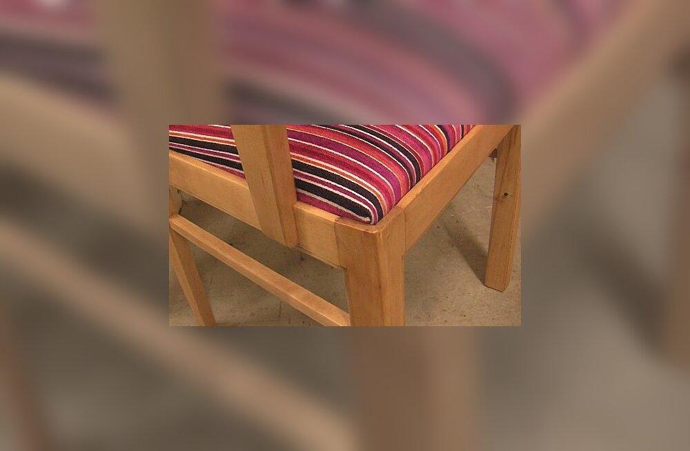 VIDEO: Kuidas vahetada tooli kattekangast?