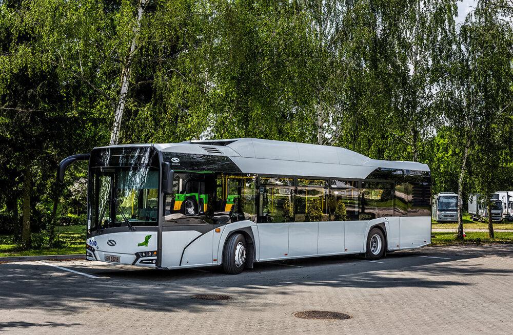 Tallinna gaasibussihankele esitas pakkumise kaks tootjat