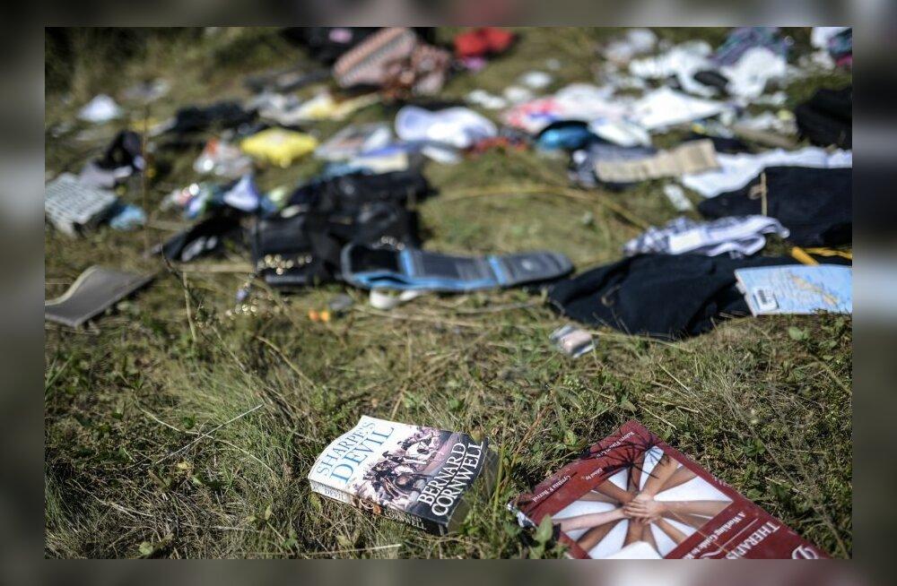 Rüüstajad kasutavad Ukraina lennukatastroofi ohvrite krediitkaarte ja mobiiltelefone