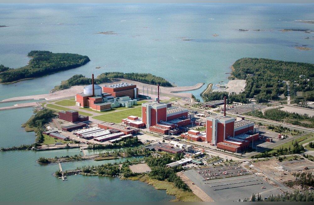 Soome Olkiluoto tuumajaamas ilmnes radioaktiivne leke