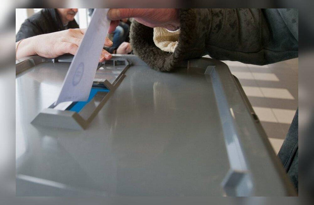ФОТО: Смотрите, как по вопросу бесплатного транспорта голосовали в Ласнамяэ