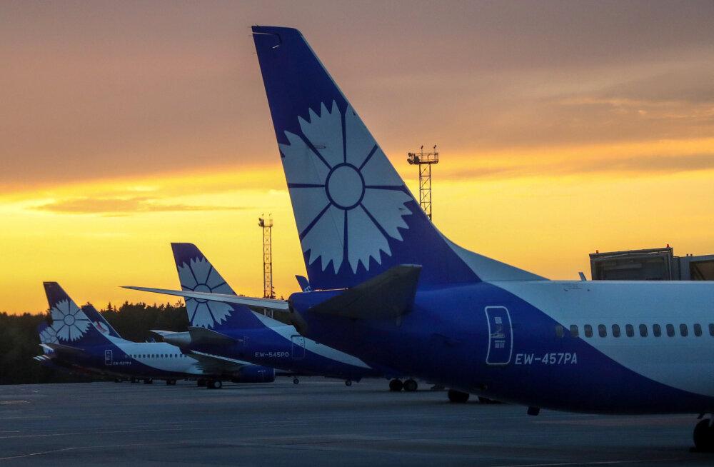 Возобновление полетов из Таллинна в Минск или города Украины зависит от воли правительства