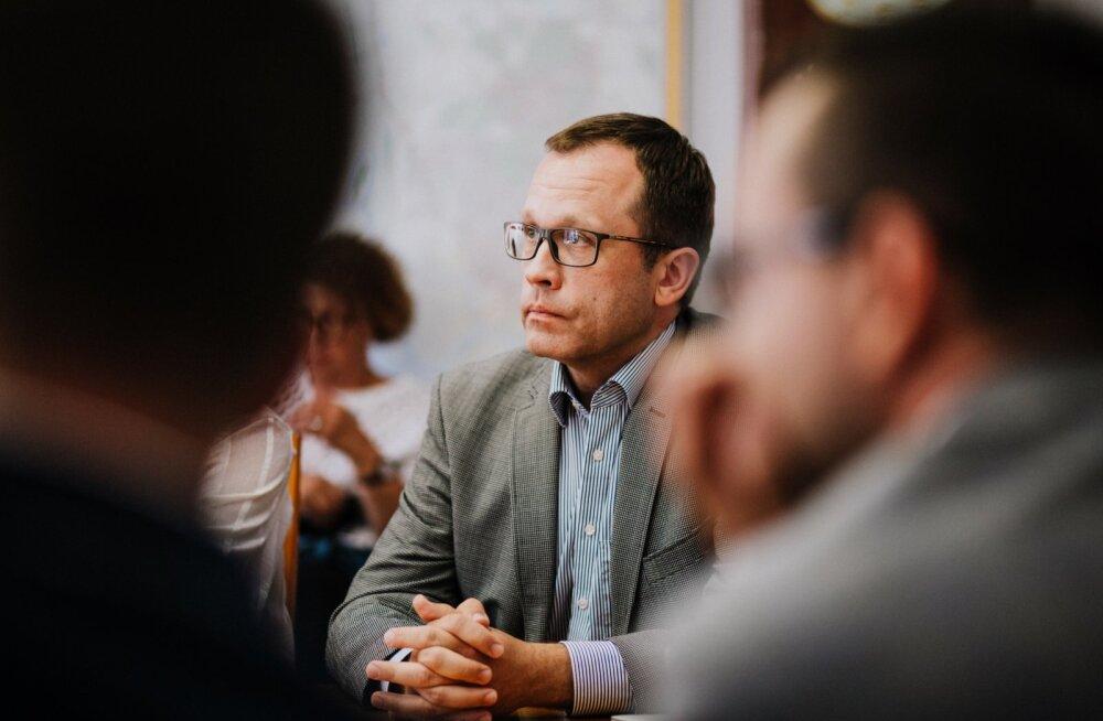 Kohtumine Tartu Linnavolikogu puidurafineerimistehase eriplaneeringu teemakomisjoni liikmetega