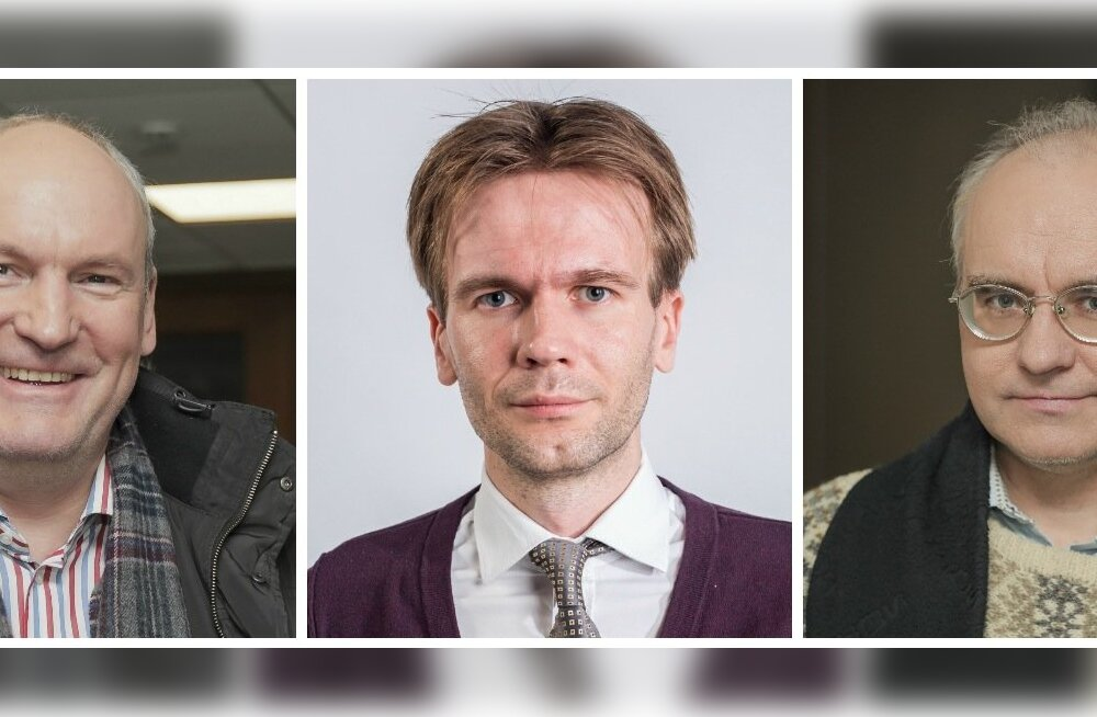 Mart Luik, Allar Tankler, Erik Roose