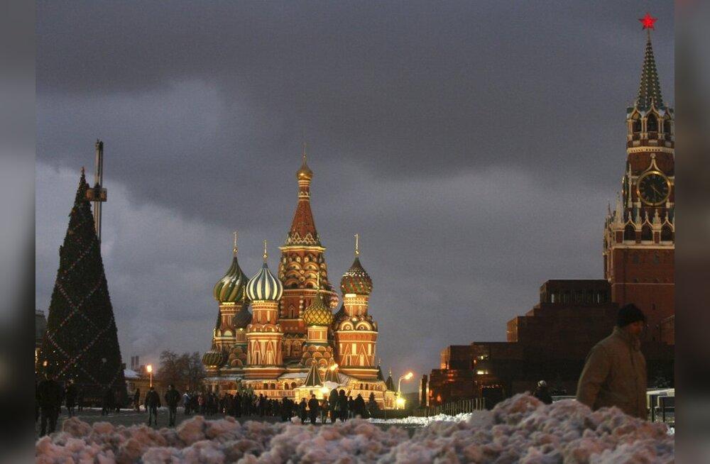 Moskvas ei lubata inimesi Punasele väljakule uut aastat vastu võtma