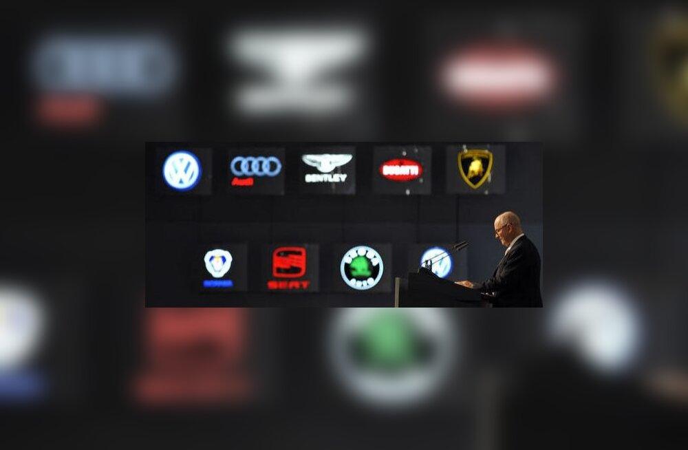 Iga logo ajalugu on kirev kui tootja enda oma. Foto Jörg Koch, AFP