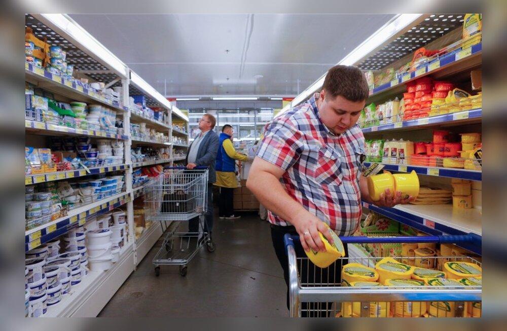 Moskva poodides hakatakse korraldama haaranguid keelatud toidukaupade avastamiseks