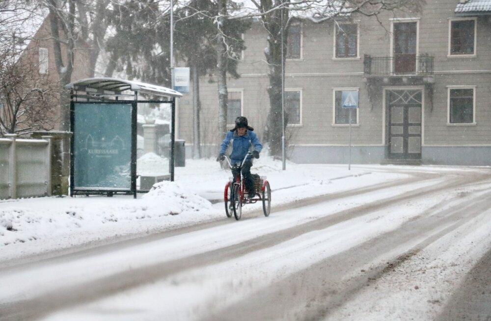 Torm Saaremaal 2 jaanuar 2019