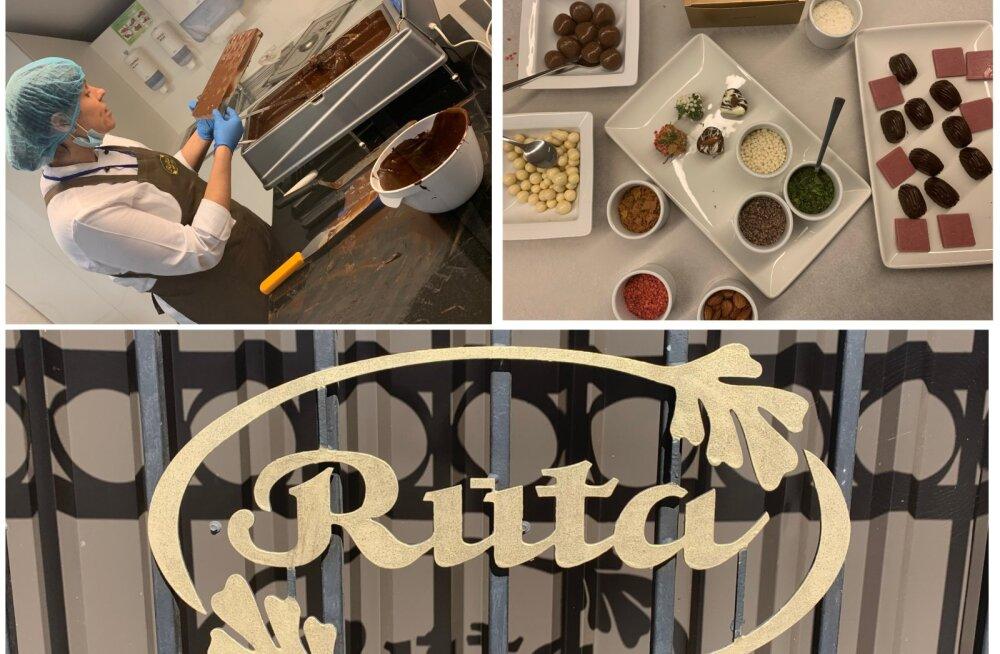 ФОТО | Рай для сладкоежек: музей шоколада в Шяуляе