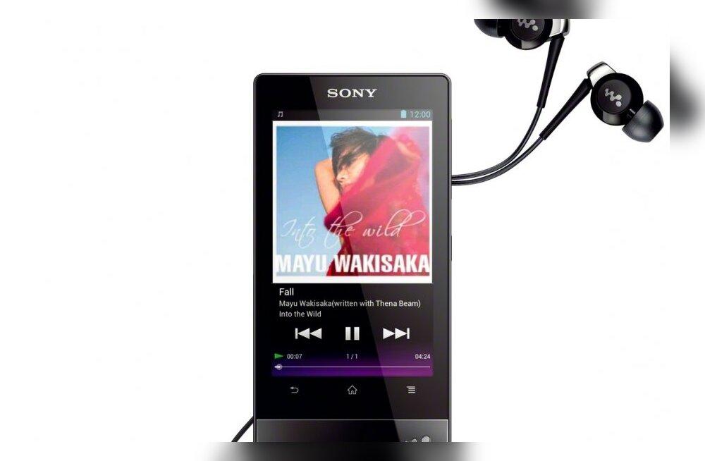 Sony uus Walkman sarnaneb juba nutitelefonidega