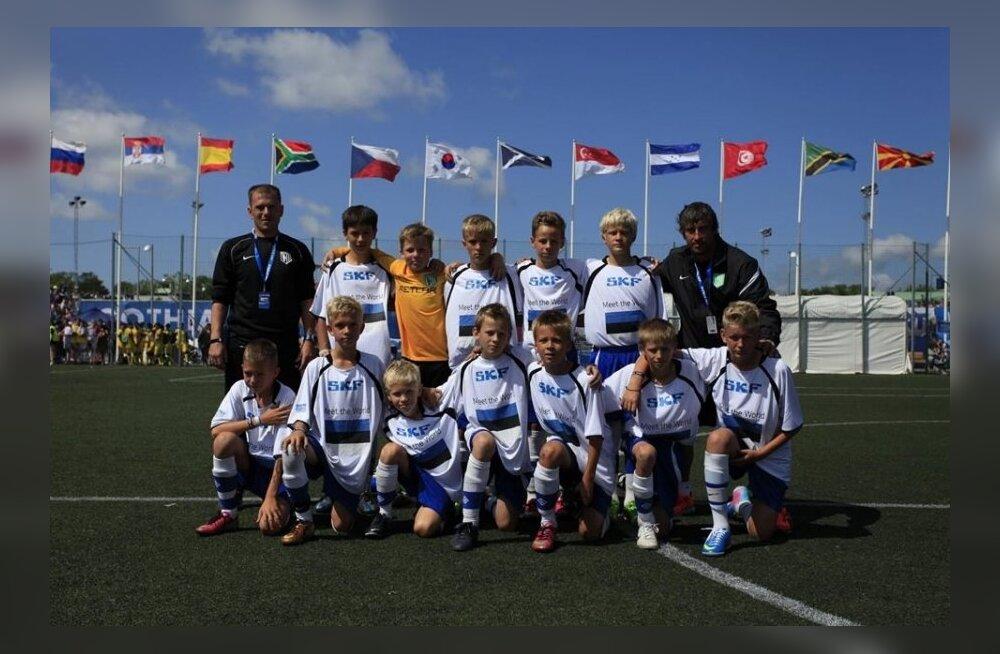 FC Flora U13 poisid Gothia Cupil