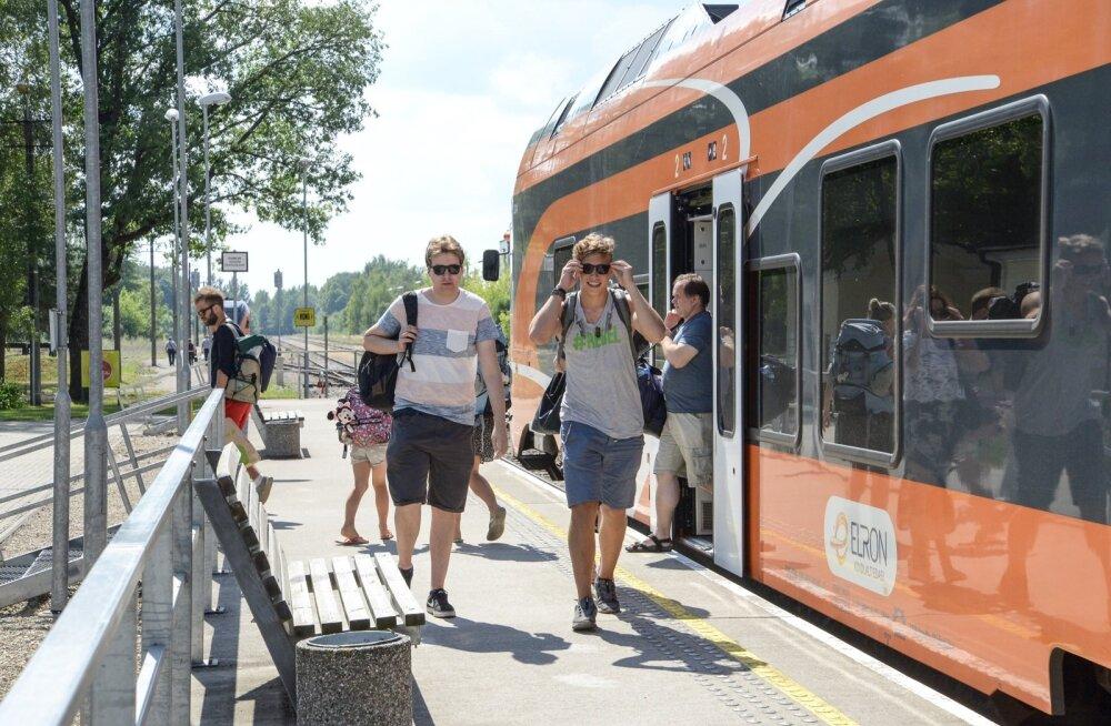 Suveaeg ja raudteeremont toovad muudatusi rongide sõiduplaanis