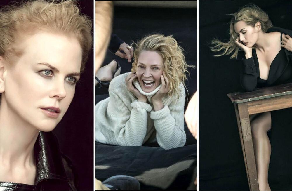 Nicole Kidman, Uma Thurman ja Kate Winslet