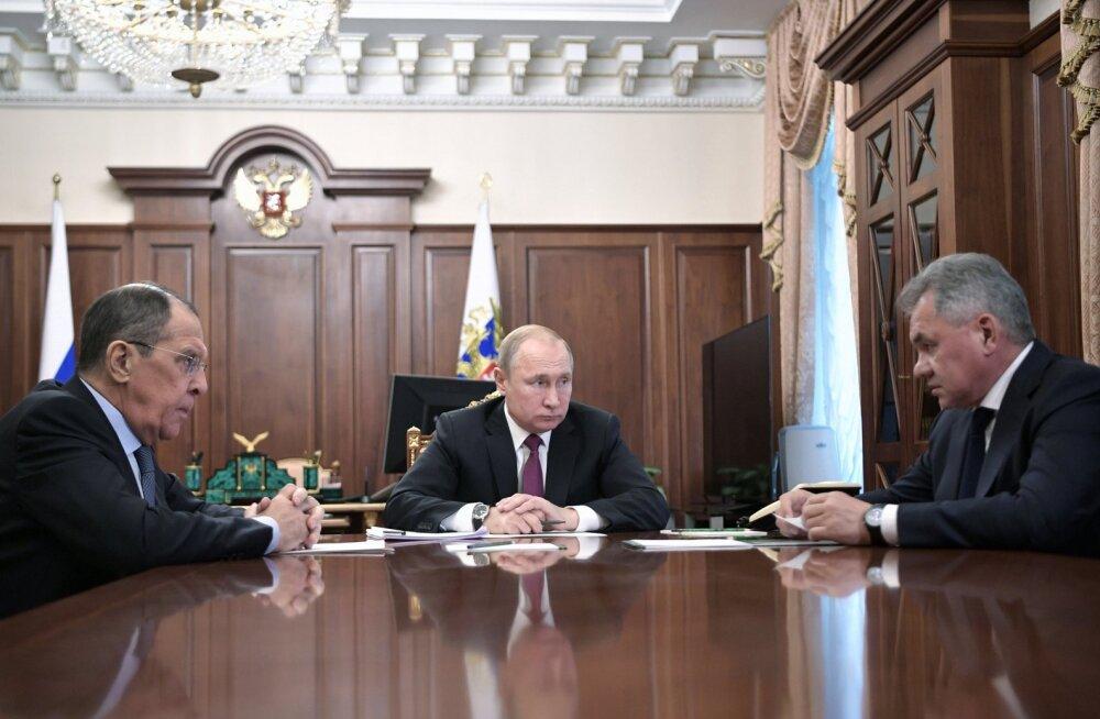 Venemaa lahkub keskmaa tuumajõudude lepingust